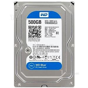 Жёсткий диск Western Digital 500GB WD Blue 3.5'' SATA-III 7200rpm 32Mb (WD5000AZLX )Western Digital
