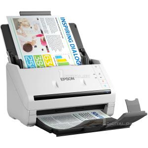 Сканер Epson WorkForce DS-530 (B11B226401) потоковыйEpson