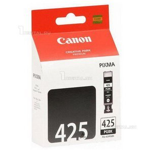 Картридж Canon PGI-425PGBK (4532B001) для iX-6540 MX-714/884/894 iP-4840/4940 MG5140//G5240/5340/6140CanonРесурс 344 страницы Объем 19 мл.