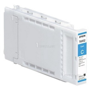 Картридж Epson C13T693200 (T6932)Epsonдля SC-T3000/ T5000/ T7000 UltraChrome XD Cyan (350ml)