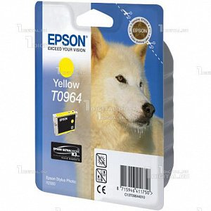 Картридж Epson C13T09644010 (T0964) для Stylus Photo R2880, YellowEpson