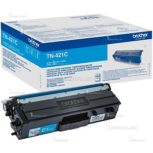 Картридж Brother TN-421C голубой для HLL8260/8360, DCPL8410, MFC-L8690/8900 (1,8K)BrotherРесурс 1800 страниц