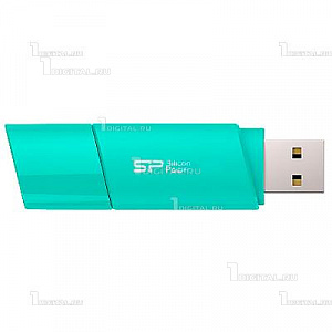 Накопитель Silicon Power 8GB Ultima U06 голубой USB 2.0 Flash Drive (SP008GBUF2U06V1B)Silicon Power