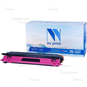 Картридж NV Print TN-135M пурпурный для Brother HL-4040/4050/4070 DCP-9040/9042/9045 MFC-9440/9450/9840 (4K)NV PrintРесурс 4000 страниц при 5% заполнении