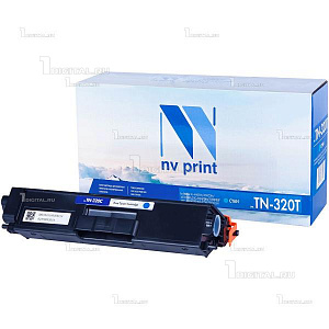 Картридж NV Print TN-320C голубой для Brother HL-4140/4150/4570 DPC-9055/9270 MFC-9460/9465/9970 (1.5К)NV PrintРесурс 1500 страниц при 5% заполнении