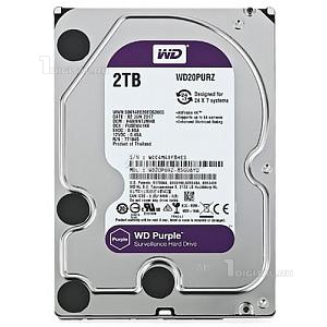 Жёсткий диск Western Digital 2 TB WD Purple 3.5'' SATA3 5400 RPM (WD20PURZ)Western Digital
