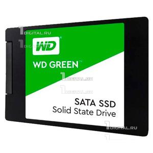 SSD накопитель Western Digital WD Green 240Gb 2.5'', SATA III WDS240G2G0AWestern Digital[R/W - 545/- MB/s] 3D-NAND TLC