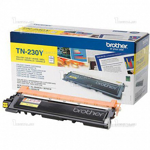 Картридж Brother TN-230Y жёлтый для DCP-9010CN HL-3040CN/3070CW MFC-9120CN/9320DW (1,4K)BrotherРесурс 1400 страниц
