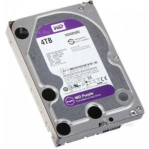 Жёсткий диск Western Digital 4 TB WD Purple 3.5'' SATA3 5400 RPM (WD40PURZ)Western Digital