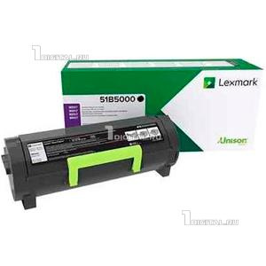Картридж Lexmark 51B5000 для MS317dn/MX317dn/MS417dn/MX417dn/MS517dn/MX517de/MS617dn/MX617de черный (2.5К)LexmarkРесурс 2500 страниц
