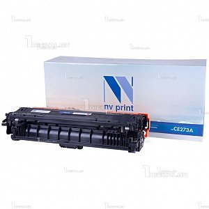 Картридж NV Print CE273A (650A) пурпурный для HP Color LaserJet Enterprise CP5525/M750 совместимый (15K)NV PrintРесурс 15000 страниц