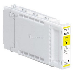 Картридж Epson C13T692400 (T6924)Epsonдля Singlepack UltraChrome XD Yellow (110ml)