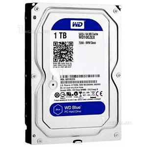 Жёсткий диск Western Digital 1 TB WD Blue 3.5'' SATA3 7200 RPM (WD10EZEX)Western Digital