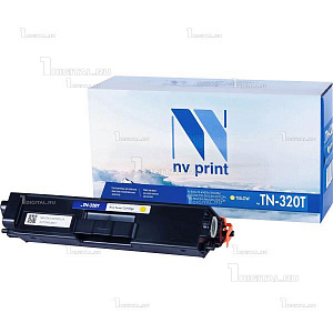 Картридж NV Print TN-320Y желтый для Brother HL-4140/4150/4570 DPC-9055/9270 MFC-9460/9465/9970 (1.5К)NV PrintРесурс 1500 страниц при 5% заполнении