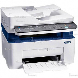 МФУ Xerox WorkCentre 3025V_NI принтер/сканер/копир/факсXerox(A4,, 20 стр/мин, 128MB, Wi-Fi, Ethernet, автоподатчик)