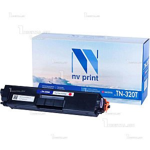 Картридж NV Print TN-320M пурпурный для Brother HL4140/4150/4570 DPC-9055/9270 MFC-9460/9465/9970 (1.5К)NV PrintРесурс 1500 страниц при 5% заполнении