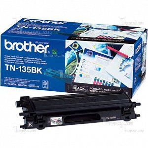 Картридж Brother TN-135BK чёрный для HL-4040/4070 DCP-9040/9045 MFC-9440/9450/9840 (5K)BrotherРесурс 5000 страниц