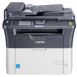 МФУ Kyocera FS-1125MFP (11102M73RU2) лазерный копир-принтер-сканер-факсKyocera(A4, 25 стр/мин, 1200dpi, 64Mb, USB, Network, дуплекс, автоподатчик)