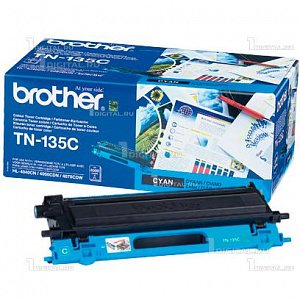 Картридж Brother TN-135C голубой для HL-4040/4070 DCP-9040/9045 MFC-9440/9450/9840 (4K)BrotherРесурс 4000 страниц
