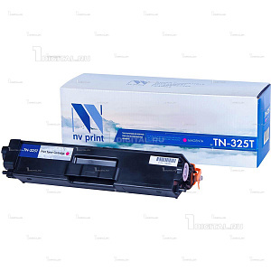 Картридж NV Print TN-325M пурпурный для Brother HL-4140/4150/4570 DPC-90559270 MFC-9460/9465/9970 (3.5К)NV PrintРесурс 3500 страниц при 5% заполнении