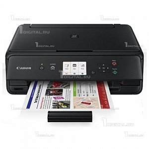 МФУ Canon PIXMA TS5040 черныйCanon(A4, 4800x1200dpi, 12.6/ 9 стр./мин., USB, Wi-Fi, AirPrint)