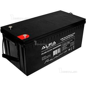 Аккумулятор Alpha Battery FB 200-12 (12В, 200Ач / 12V, 200Ah)Alpha BatteryТехнология AGM. Размеры: Д-522мм Ш-240мм В-224мм Вес 57,75 кг. Срок службы 5 лет.