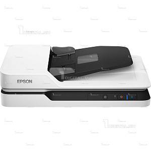 Сканер Epson WorkForce DS-1630 планшетныйEpson(A4, 1200x1200 dpi, 25 стр/мин., 50 лист.)