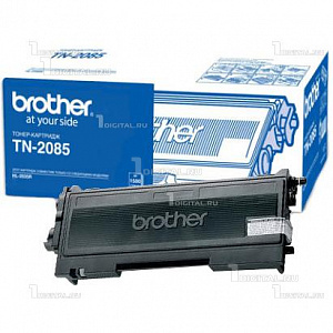 Картридж Brother TN-2085 чёрный для HL-2035R (1.5K)BrotherРесурс 1500 страниц