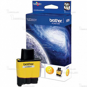 Картридж Brother LC900Y/LC41Y желтый для DCP-115/120/MFC-215Brother400 стр.