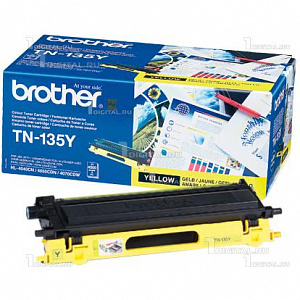 Картридж Brother TN-135Y жёлтый HL-4040/4070 DCP-9040/9045 MFC-9440/9450/9840 (4K)BrotherРесурс 4000 страниц