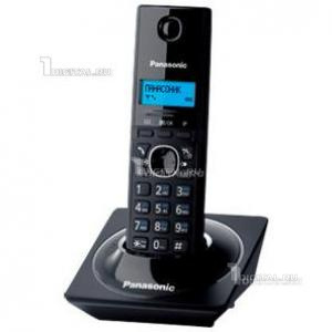 Радиотелефон Panasonic KX-TG1711RUB черныйPanasonic(беспроводной DECT, АОН)