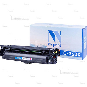 Картридж NV Print CF363X (508X) пурпурный для HP Color LJ Enterprise M552/M553/M577 (9.5К) (NV-CF363XM)NV PrintРесурс 9500 страниц при 5% заполнении
