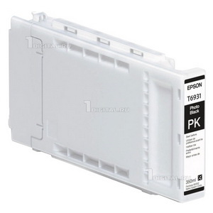 Картридж Epson C13T693100 (T6931)Epsonдля SC-T3000/ T5000/ T7000 UltraChrome XD Photo Black (350ml)