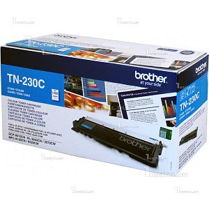 Картридж Brother TN-230C голубой для DCP-9010CN HL-3040CN/3070CW MFC-9120CN/9320DW (1,4K)BrotherРесурс 1400 страниц
