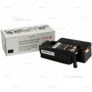 Картридж Xerox 106R02763 черный для Phaser 6020/6022 WorkCentre 6025/6027 (2К)XeroxРесурс 2000 страниц