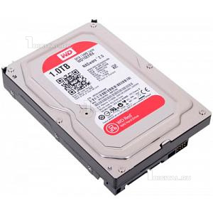 Жёсткий диск Western Digital 1 TB WD Red 3.5'' SATA3 5400 RPM (WD10EFRX)Western DigitalNAS Red (5400rpm) 64Mb 3.5''
