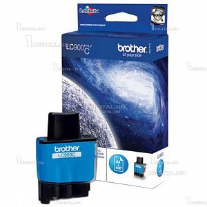 Картридж Brother LC900C/LC41C голубой для DCP-115/120/MFC-215Brother400 стр.