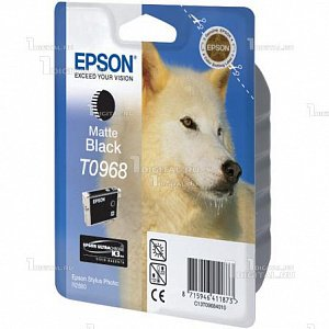 Картридж Epson C13T09684010 (T0968) для Stylus Photo R2880 Matte BlackEpson
