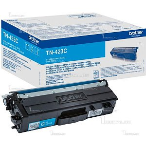 Картридж Brother TN-423C голубой для HLL8260/8360, DCPL8410, MFC-L8690/8900 (4K)BrotherРесурс 4000 страниц