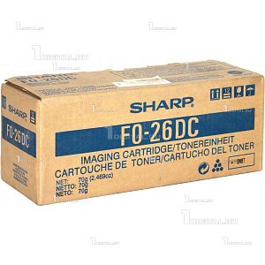 Картридж Sharp FO26DC черный для FO-2600/2700/2850 UX 3600 (2К) (FO-26DC)SharpРесурс 2000 страниц