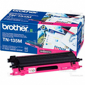 Картридж Brother TN-135M пурпурный для HL-4040/4070 DCP-9040/9045 MFC-9440/9450/9840 (4K)BrotherРесурс 4000 страниц