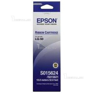 Картридж Epson C13S015624BA Ribbon cartridge LQ-50Epson