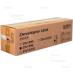 Блок проявки Kyocera DV-896C Developer Unit голубой для FS-C8020/FS-C8025/FS-C8520 (200К) (302MY93044)KyoceraРесурс 200000 страниц