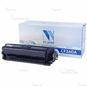 Картридж NV Print CF360A (508A) чёрный для HP Color LJ Enterprise M577/M552/M553 (6К) (NV-CF360ABk)NV PrintРесурс 6000 страниц при 5% заполнении
