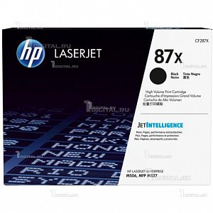 Картридж HP CF287X (87X) для Enterprise Flow MFP M527/ M506/ Pro M501HP(ресурс 18000 стр)