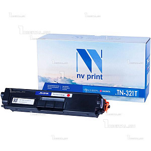 Картридж NV Print TN-321M пурпурный для Brother HL-L8250CDN/ MFC-L8650CDW совместимый (1.5К) (NV-TN321TM)NV PrintРесурс 1500 страниц при 5% заполнении