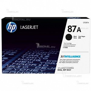 Картридж HP CF287A (87A) для Enterprise Flow MFP M527/ M506/ Pro M501HP(ресурс 9000 стр)