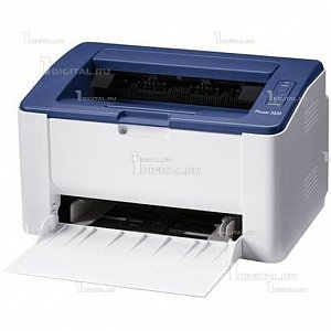 Принтер Xerox Phaser 3020XeroxA4, 1200x1200 dpi, 20 стр./мин, 128Mb, Wi-Fi, USB 2.0,Windows Linux Mac OS