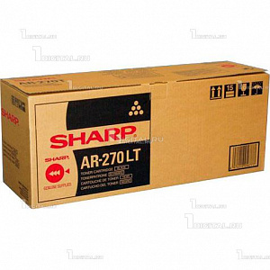 Картридж Sharp AR270T черный для AR 235/275/M236/M276 (25K) (AR-270LT)SharpРесурс 25000 страниц
