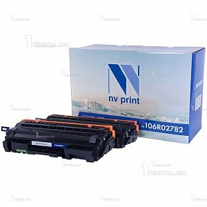 Картридж NV Print 106R02782 (в комплекте 2 шт) для Xerox Phaser 3052/3260 WorkCentre 3215/3225 совместимый (2x3K)NV PrintРесурс 2x3000 страниц
